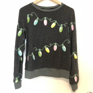 Wildfox Christmas Lights Jumper
